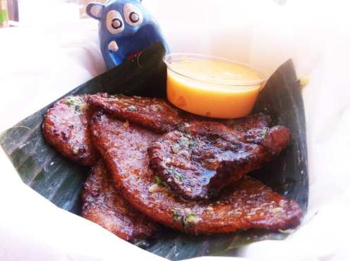 Twice Fried Ripe Plantains from Frita Batidos