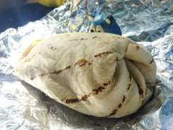 BLT Grilled Chicken Burrito @ Well Dressed Burrito