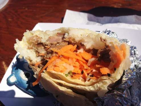 Banh Mi Burrito $9 @ South Meets East Truck