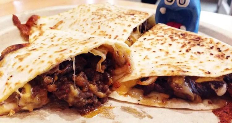 Bulgogi Kimchi Quesadilla @ G Street Food