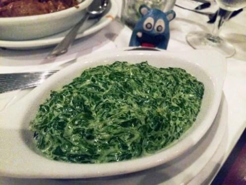 Creamed Spinach @ Ruth's Chris Bethesda