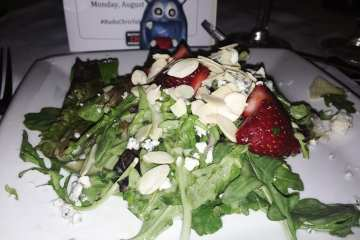 Strawberry Toasted Almonds Salad @ Ruth's Chris Bethesda