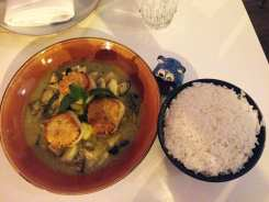 Seared Scallops in Green Curry @ Doi Moi DC