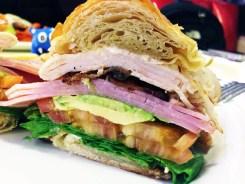 California Club Sandwich @ Lori's Diner San Francisco