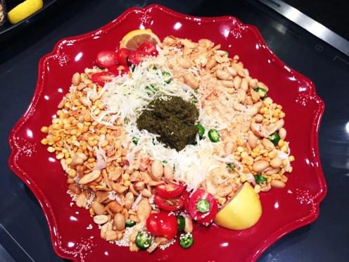 Tea Leaf Salad @ Mingalaba San Francisco