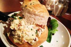 Applewood Bacon Crab Dip $12 @ Pig & FIsh Rehoboth