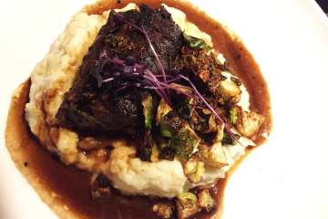 Braised Short Ribs $19 @ Sligo Cafe Silver Spring