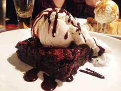 Brownie + Ice Cream @ Pig & Fish Rehoboth