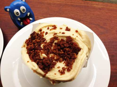 Flap Jack Bacon Cupcake @ Baked & Wired Georgetown DC
