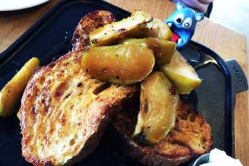 Brunch Country Bread French Toast 12 @ Urban Butcher Silver Spring