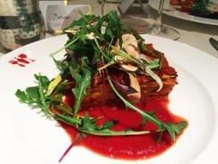 Lasagnetta di Zucchini al Forno @ Bottega Napa Valley