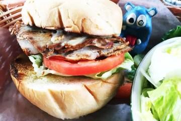 Roasted Pork Loin Sandwich $19 @ Nepenthe Big Sur CA