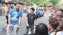 Queer as Folk star Hal Sparks at Capital Gay Pride 2015