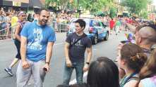 Queer as Folk star Hal Sparks at Capital Gay Pride 2015