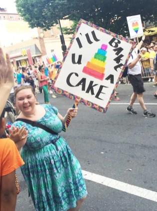 Gay Cake at Capital Gay Pride 2015