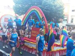 Wells Fargo Float at Capital Gay Pride 2015