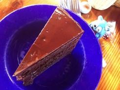Four Layer Chocolate Fudge Cake $10 @ Nepenthe Big Sur CA