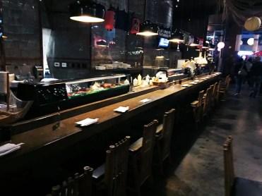 Cho Oishi Japanese Sushi Restaurant in Los Angeles California