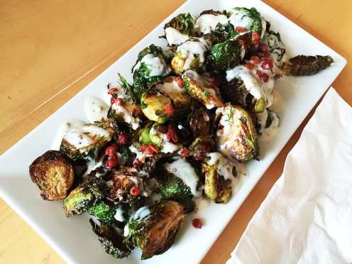 Cripsy Brussels Sprouts $11 @ Continental in Philadelphia