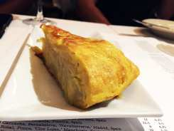 Potato Tortilla a Spanish Omelet $5 @ Barcelona Wine Bar in Reston Virginia