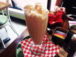 Banana Milkshake @ AG Kitchen in Down Town Silver Spring, Maryand