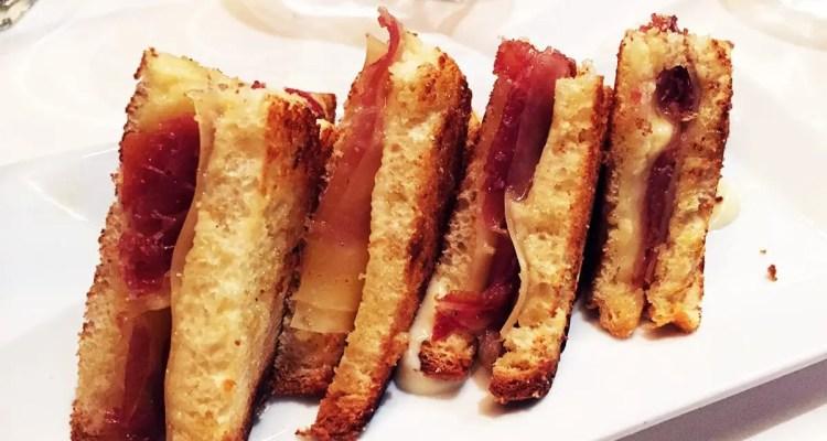 Truffled Bikini Sandwich $9 @ Barcelona Wine Bar in Reston Virginia