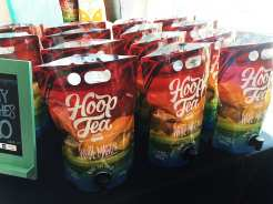 White Mango Alcoholic Tea @ Hoop Tea at Emporiyum Food Market in Baltimore