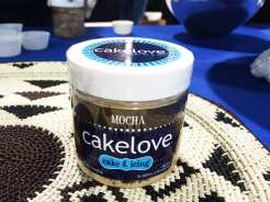 Mocha Cake Jars @ Cake Love at Emporiyum Food Market in Baltimore