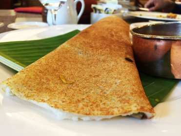 Breakfast Dosa @ Le Jardin Buffet at Oberoi Hotel in Bangalore India