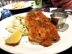 Mustard Crusted Chicken @ Not Your Average Joe's