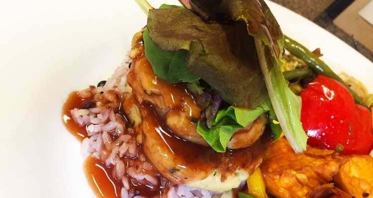 Best Day to Go Vegetarian, Spinach Tofucakes @ Mark's Kitchen