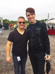 Jimmy Alexander at NOM NOM Boris at NOVA Gay Pride (picture by @DCHomos)