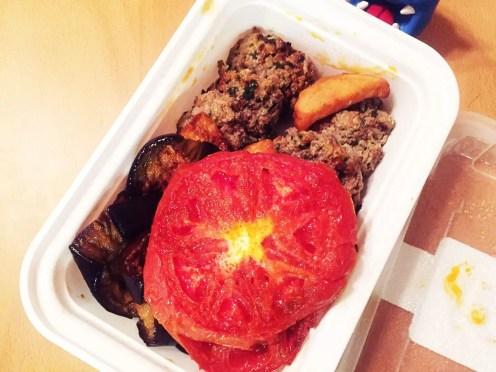 Kafta & Vegetables from Mezze Box Food Service
