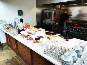 Breakfast Bar @ Cabot Media Event