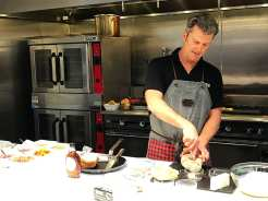 Making of Monte Cristo Sandwich with Cabot Cheese