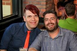 Boris and Mike from Yelp @ Jinya Pike & Rose Rockville