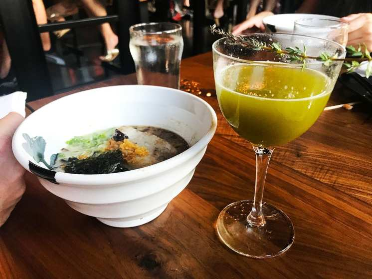 Ramen & Drinks @ Jinya Pike & Rose Rockville