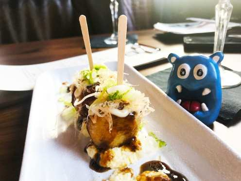 Takoyaki Noming @ Jinya Pike & Rose Rockville