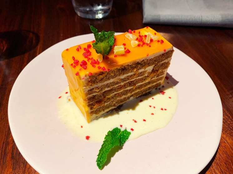 Smith-Island-Carrot-Cake-$9-@-Unconvential-Diner-(3-NOMs)-2