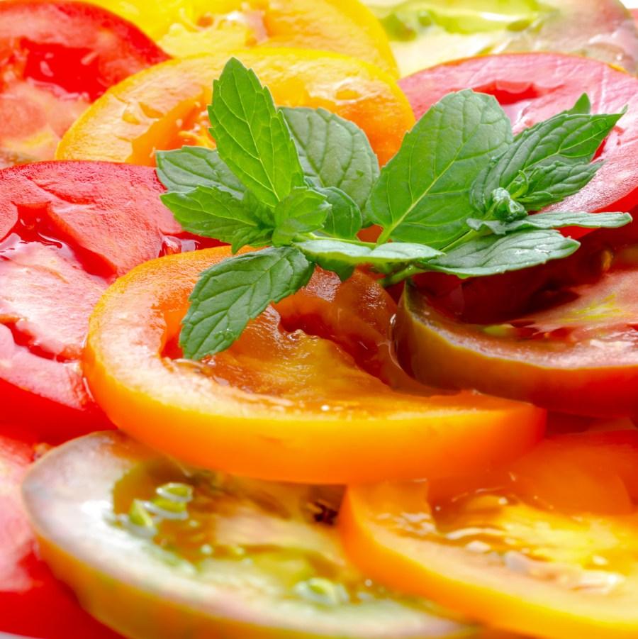 natural colors of food