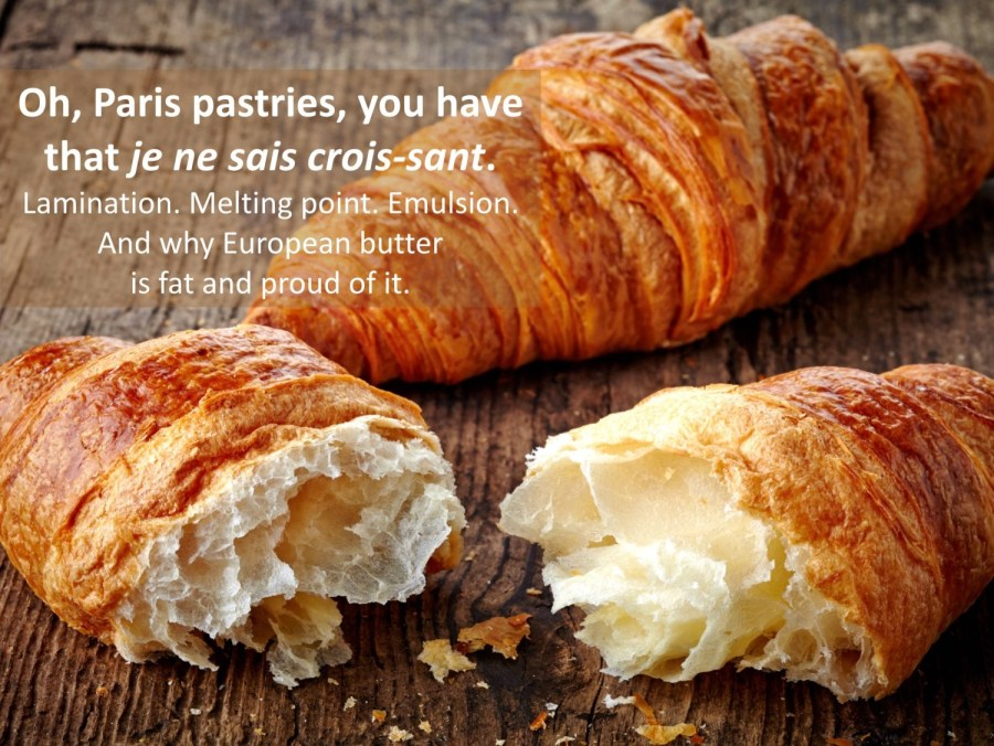 croissants and butter