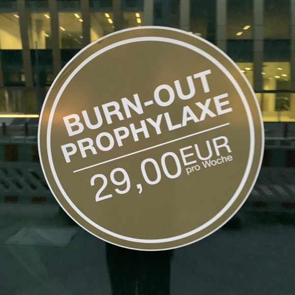 Burnout Prophylaxe