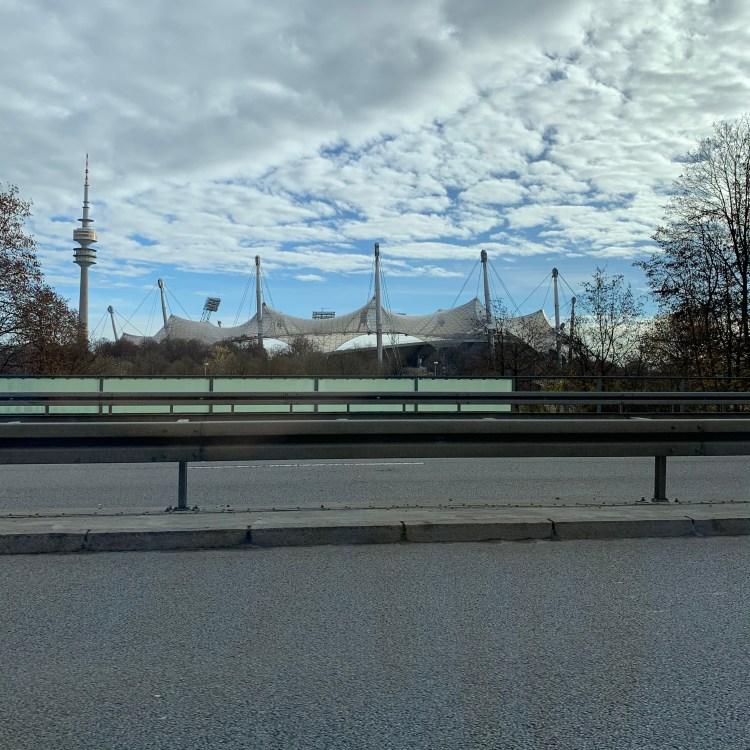 Olympiastadion - #daily #random #late #photo
