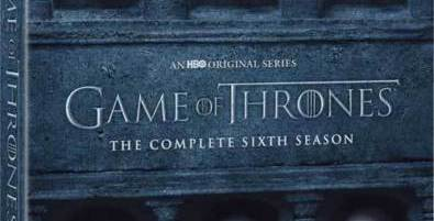 Game of Thrones: Season 6 on DVD for $11.99