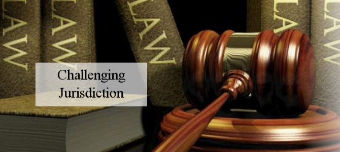 The Jurisdiction of Acts
