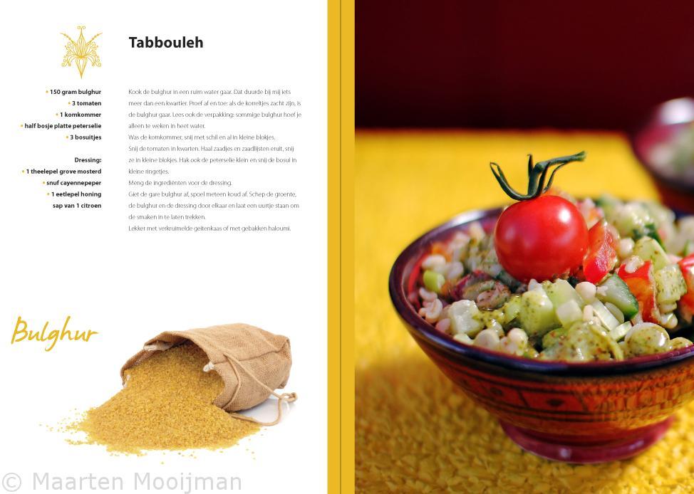 Bazaar Kookboek Portret
