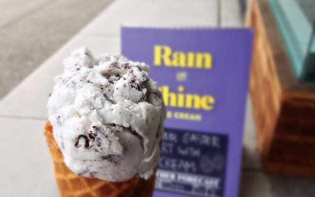 Rain or Shine Ice Cream Vancouver (Kitsilano) | Coconut Chocolate Chunk Ice Cream