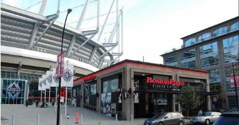 Boston Pizza Downtown Vancouver Restaurant Openings | Stadium District & Theatre District