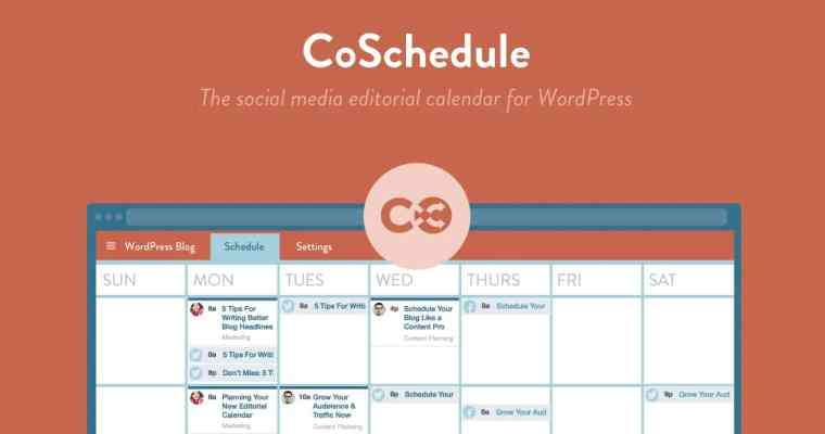Best Blogging Tool COSCHEDULE | One Tool Every Blogger Needs