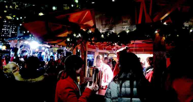 Vancouver Christmas Market 2014 | Mulled Wine and Crafts